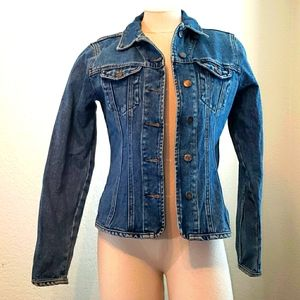 Faconnable jean jacket. Small